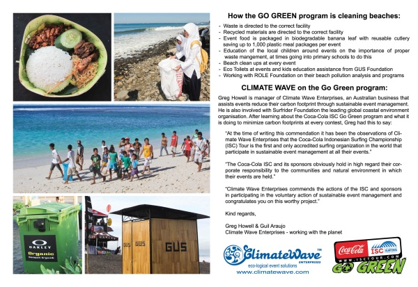 Go Green with ISC & CWE