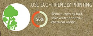 use eco friendly printing
