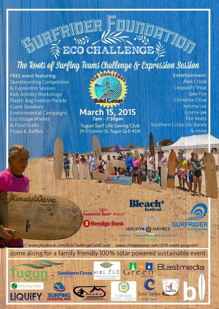 Eco Challenge event poster