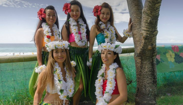 Lovely Hula Dancers