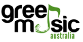 Green music logo