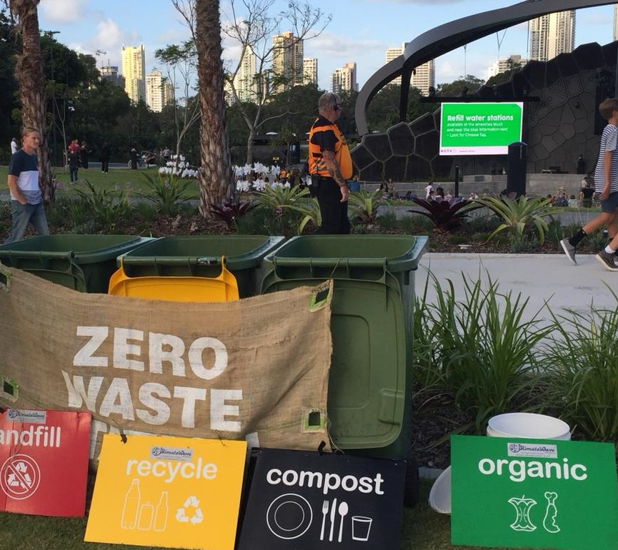 landfill recycle compost organic